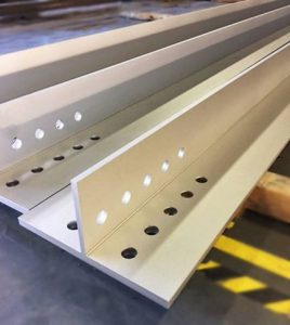 stainless steel custom t-section fro food and beverage