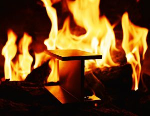 stainless steel improves fire resistance