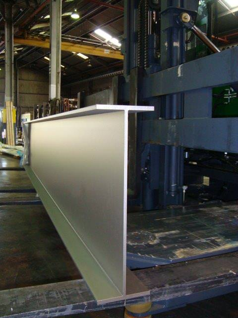 stainless steel beams in special shapes