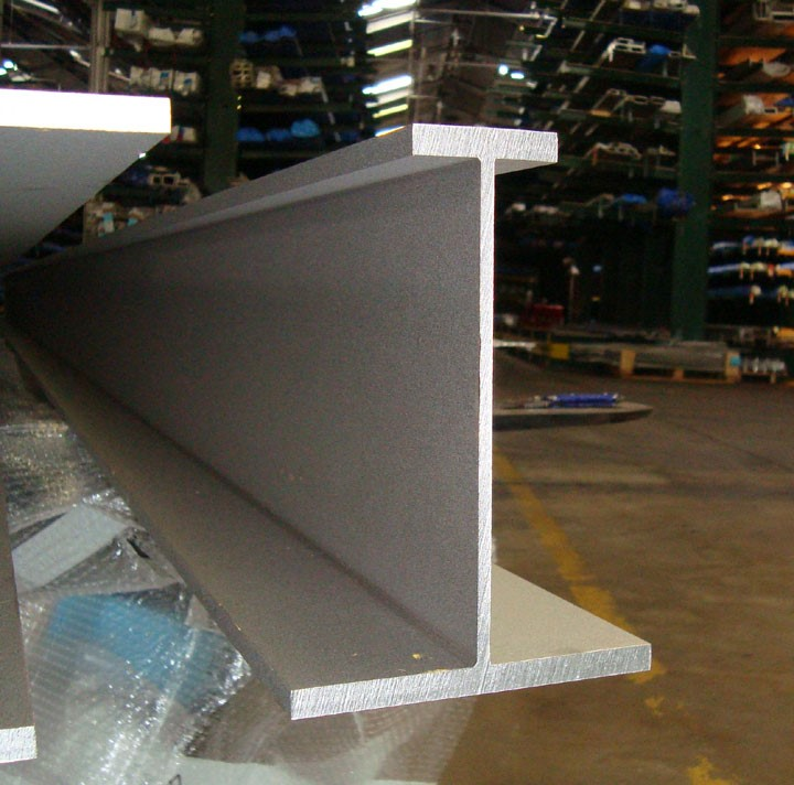 alloyed stainless steel beam