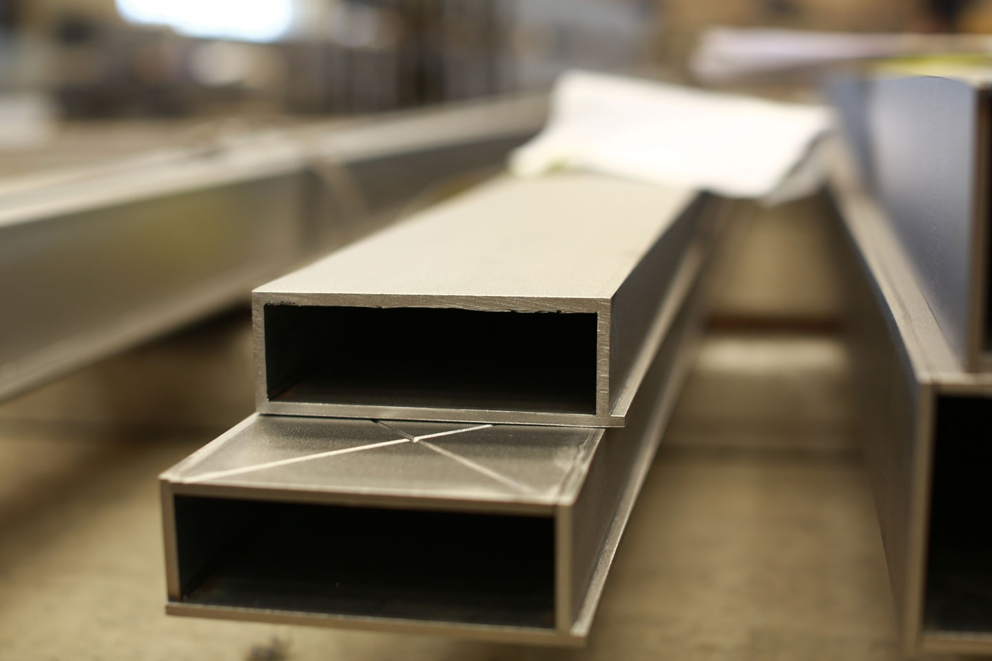 Sharp Cornered Steel Profiles In Many Different Alloys