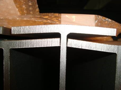 sloped flange profiles
